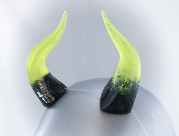 Toxic Specialty Color Cast Resin Horns