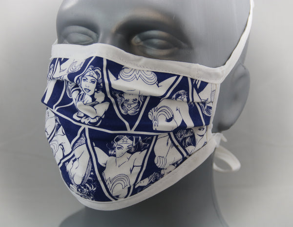 Amazon Warrior Tie-Back Fashion Face Mask