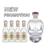 Crystal Head Vodka + 4 Free Connoisseur Tonic