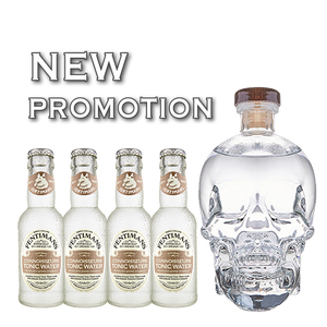 Load image into Gallery viewer, Crystal Head Vodka + 4 Free Connoisseur Tonic