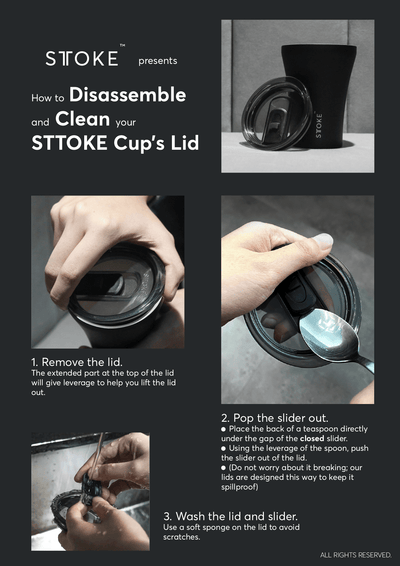 STTOKE - Recyclable Certified Lid 2.0