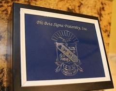 Phi Beta Sigma - Engraved Cigar Humidor