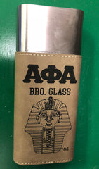 Alpha Phi Alpha Cigar Carrier (Leather Personal) - Custom