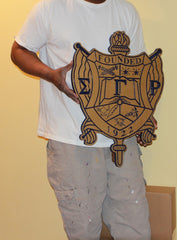 "Sigma Gamma Rho - Crest 20"" Tall (Painted)"