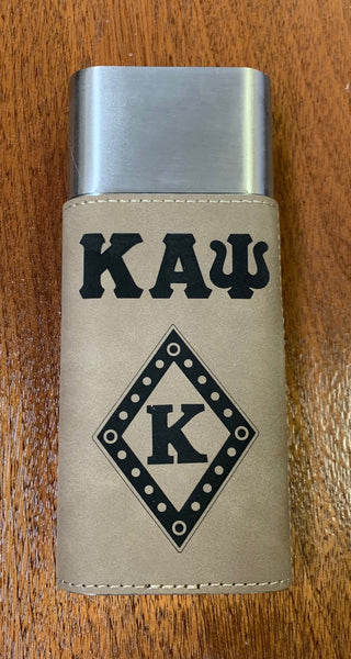 Cigar Carrier (Leather Personal) - Custom - Kappa Alpha Psi