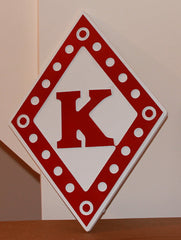 "Kappa Alpha Psi Diamond - 26"" Tall"