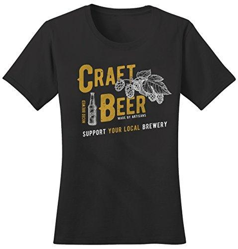 Shirts By Sarah Women's Craft Beer Support Local Brewery Tees Brew Master T-Shirt-Shirts By Sarah