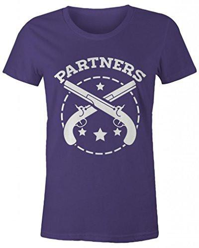 Shirts By Sarah Women's Best Friends Partners In Crime T-Shirts - Partners-Shirts By Sarah