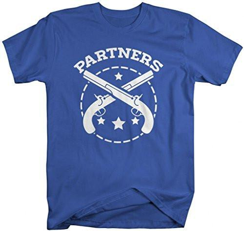 Shirts By Sarah Unisex Best Friends Partners In Crime T-Shirts-Shirts By Sarah
