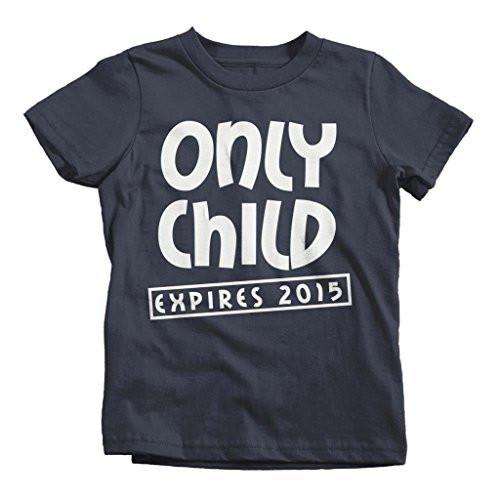 Shirts By Sarah Youth Funny Only Child Expiring T-Shirt New Baby Shirts-Shirts By Sarah