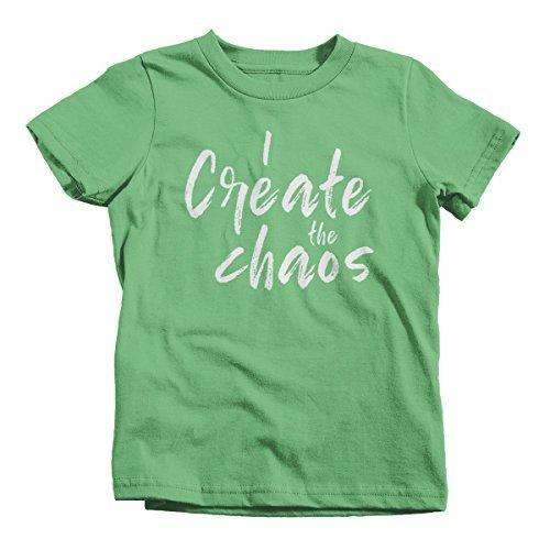 Shirts By Sarah Youth Kids Matching Mother Daughter Father Son T-Shirt Chaos Tee-Shirts By Sarah