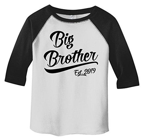 2f5ef692 Shirts By Sarah Boy's Toddler Big Brother EST. 2019 T-Shirt Promoted to T