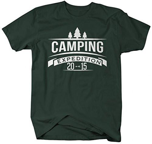 Shirts By Sarah Men's Camping Expedition T-Shirt Camp Shirts 2015 Camper-Shirts By Sarah