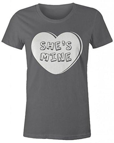 Shirts By Sarah Women S Matching Valentine S Day Couples T Shirts She