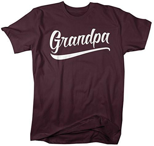 Shirts By Sarah Men's Grandpa T-Shirt Fathers Day Shirts-Shirts By Sarah