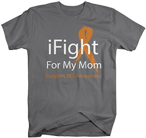 Shirts By Sarah Unisex Mulitple Sclerosis iFight For My Mom T-Shirt-Shirts By Sarah