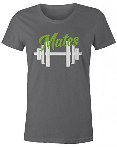 Shirts By Sarah Women's Matching Swole Mates Workout T-Shirts (Mates)-Shirts By Sarah