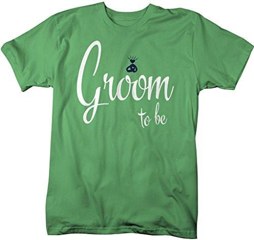 Shirts By Sarah Men's Groom To Be Cute T-Shirt Wedding Shirt-Shirts By Sarah