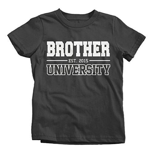 Shirts By Sarah Boy's Brother University 2015 T-Shirt Big Brother Shirts-Shirts By Sarah