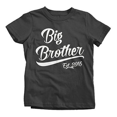 Pregnancy Announcement Blue Raglan Big Brother Shirt 2T//3T Promoted to Big Brother