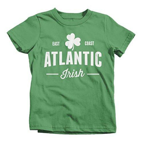 Shirts By Sarah Boy's St. Patrick's Day Atlantic Irish T-Shirt Pride Shirts-Shirts By Sarah