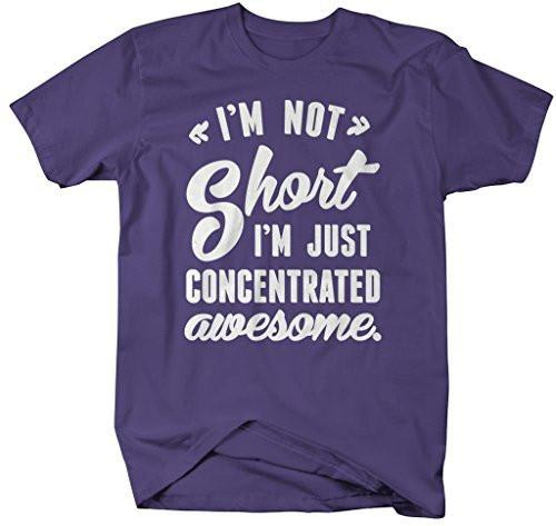 Shirts By Sarah Men's Funny Concentrated Awesome T-Shirt Short People Shirts-Shirts By Sarah