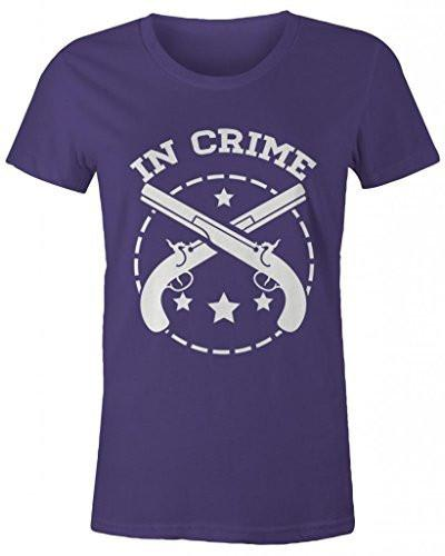 Shirts By Sarah Women's Best Friends Partners In Crime T-Shirts - Crime-Shirts By Sarah