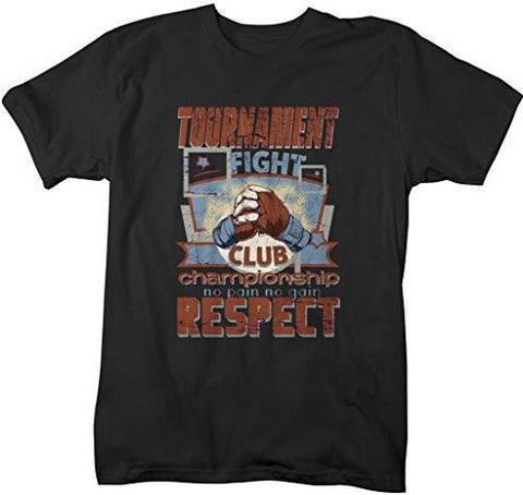 Shirts By Sarah Men's Mixed MMA Tournament T-Shirt Champion Respect Martial Arts Shirt-Shirts By Sarah