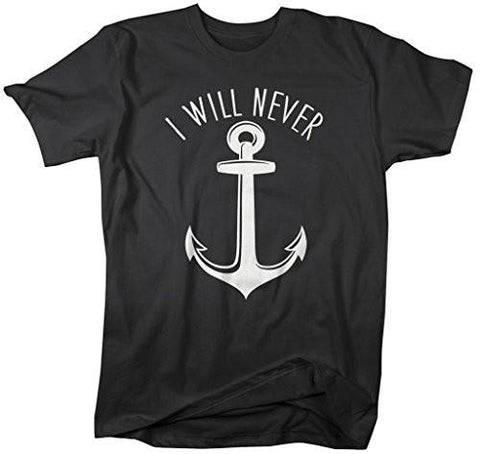 Shirts By Sarah Men's Best Friends Couples T-Shirts I Will Never Let You Sink (I Will Never Half) - Black / XX-Large - 2