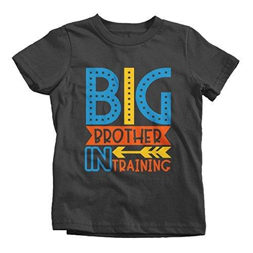 Shirts By Sarah Boy's Big Brother in Training T-Shirt Promoted Shirt Baby Announcement-Shirts By Sarah