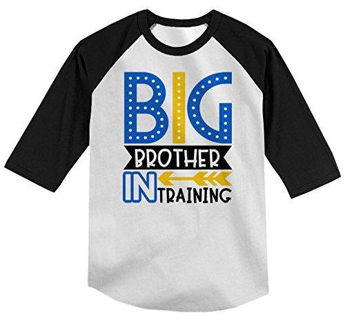 d761d5e2 Shirts By Sarah Boy's Toddler Big Brother in Training T-Shirt Promoted Shirt  Baby 3