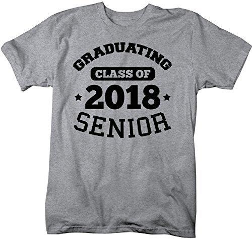 Shirts By Sarah Men's Graduating Class 2018 Senior T-Shirt-Shirts By Sarah