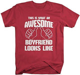 Shirts By Sarah Men's Awesome Boyfriend T-Shirt Shirts-Shirts By Sarah