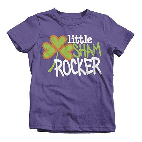 Shirts By Sarah Youth Funny Sham Rocker T-Shirt ST. Patrick's Day-Shirts By Sarah