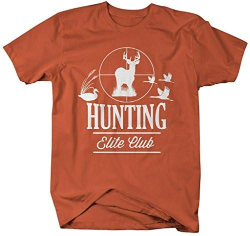 Shirts By Sarah Men's Hunting T-Shirts Elite Club Shirts For Hunters-Shirts By Sarah