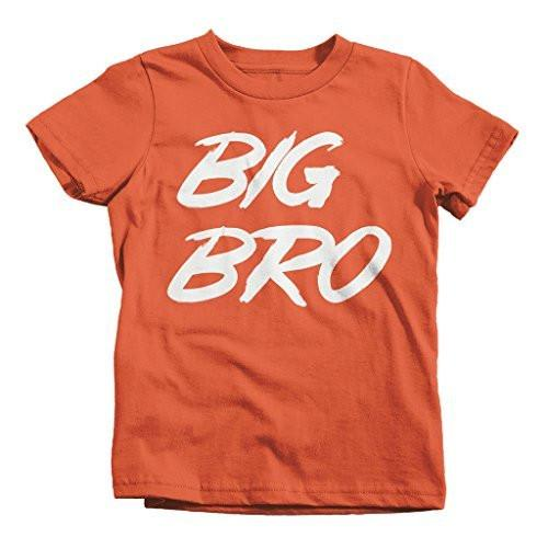 Shirts By Sarah Boy's Big Bro T-Shirt Brother Shirts Promoted To Youth-Shirts By Sarah