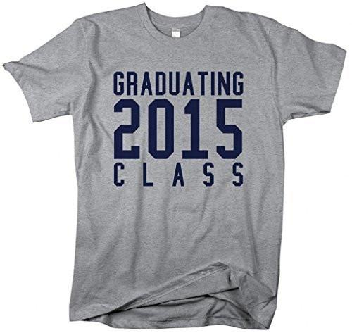 Shirts By Sarah Men's Graduating Class 2015 T-Shirt Senior-Shirts By Sarah