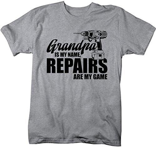 Funny Men/'s Dog Breed T-Shirt GREYHOUND GRANDAD Father/'s Day Gift Idea