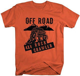 Shirts By Sarah Men's 4X4 Rock Cralwer Off Road T-Shirt Roading Shirts-Shirts By Sarah