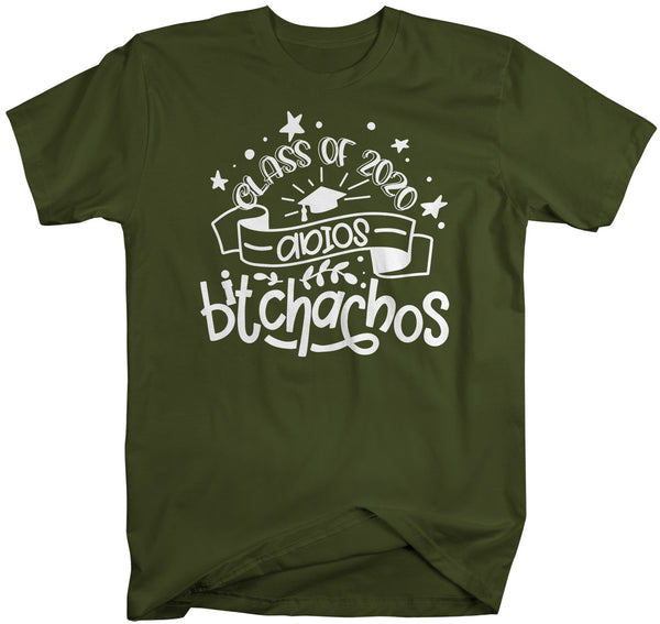 Men's Funny Class 2020 T Shirt Adios Bitchachos Shirt Senior Class Shirts Funny Senior 2020 T Shirt-Shirts By Sarah
