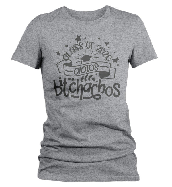 Women's Funny Class 2020 T Shirt Adios Bitchachos Shirt Senior Class Shirts Funny Senior 2020 T Shirt-Shirts By Sarah