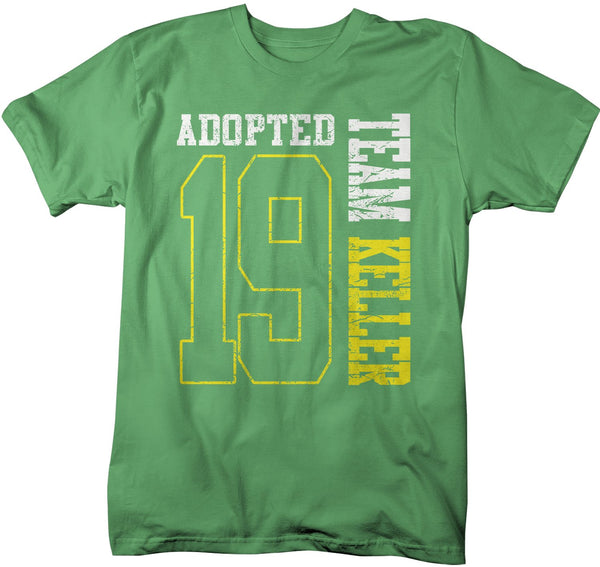 Men's Personalized Adopted T Shirt Matching Custom Matching Family Shirts Adoption Adopting Tee Athletic Team TShirt-Shirts By Sarah