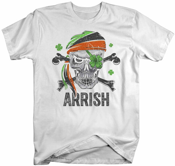 Women's Funny St Patrick's Day T Shirt Pirate Shirt Arrish T Shirt Funny Irish Shirt Irish Pirate Shirt-Shirts By Sarah
