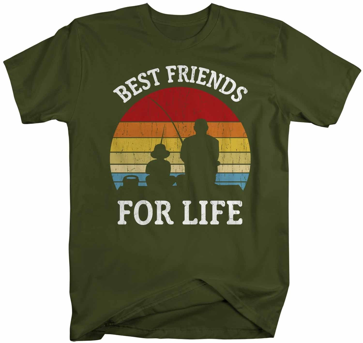 For Life Standard Unisex T-shirt Father And Son Best Friends