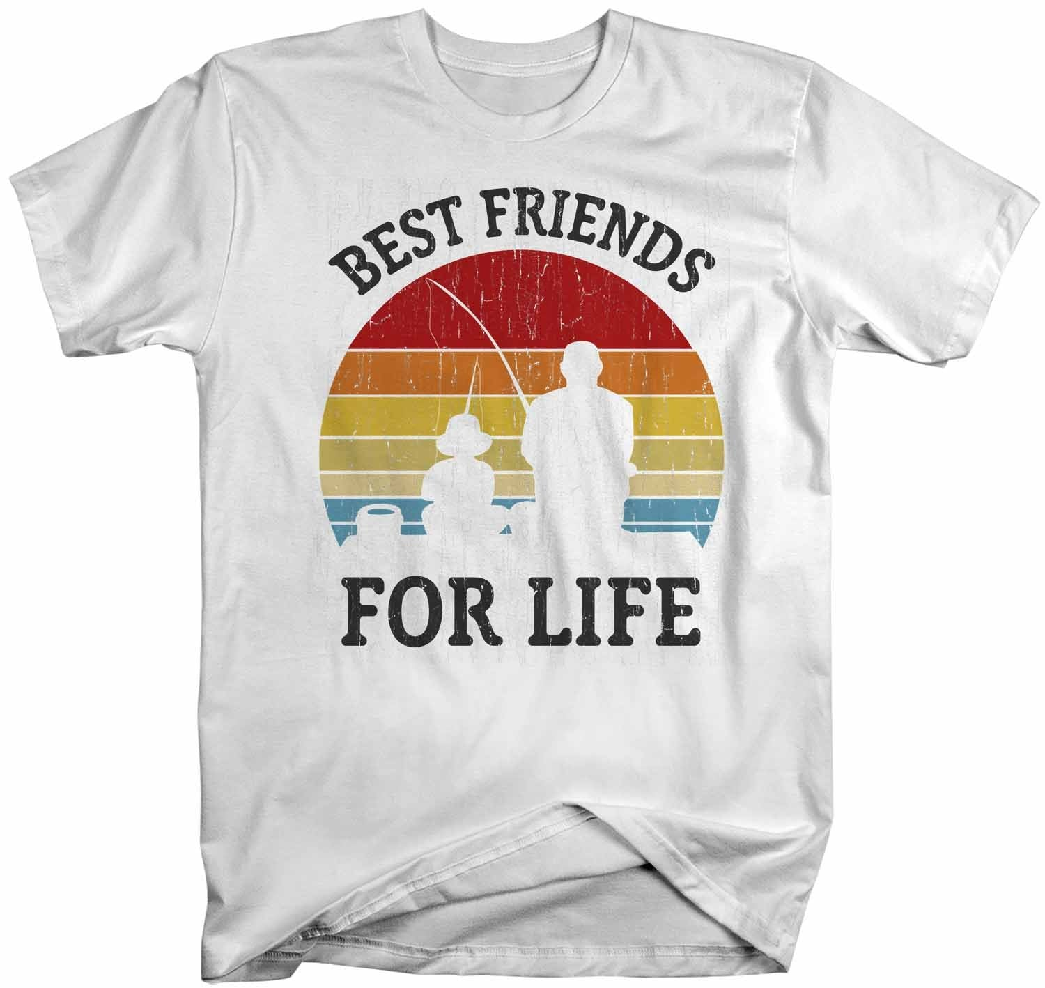 FATHER /& SON Best Friends for Life T-Shirt Dad Father/'s Day Birthday Tee