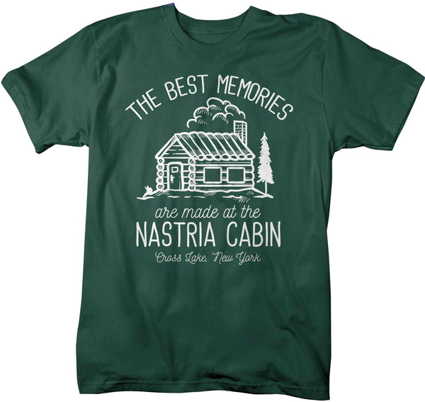 Men's Personalized Cabin T Shirt Life Is Better At Cabin Shirts Custom Camp Shirt Camping T Shirts-Shirts By Sarah