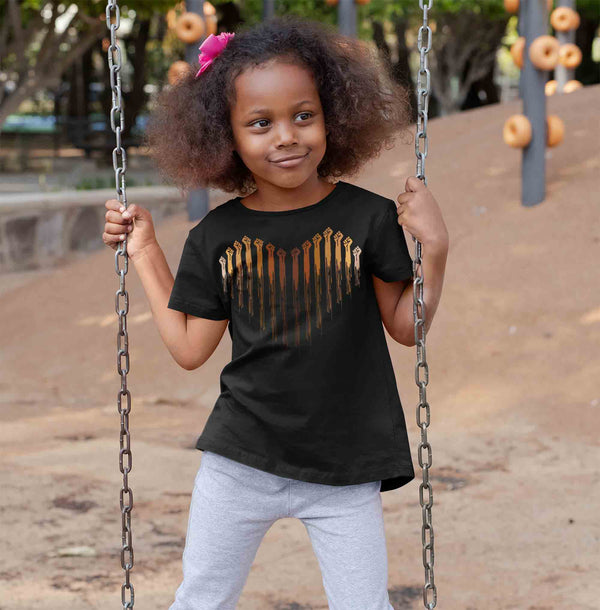 Kids Black Lives Matter Shirt BLM T Shirt Melanin Heart Fists Awareness Shirt Human Rights BLM TShirt Equality Equal Boy's Girls-Shirts By Sarah