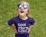 Kids Funny T Shirt Cool Story Mom Get Me Snack Funny Toddler Shirts Hilarious Cute Shirts For Toddlers-Shirts By Sarah