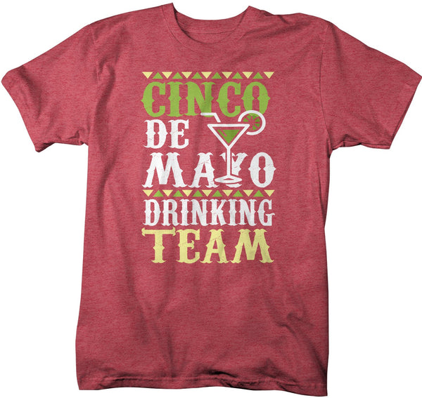 Men's Funny Cinco De Mayo T Shirt Cinco De Mayo Drinking Team Shirt Hipster Shirt Drinking Shirt-Shirts By Sarah