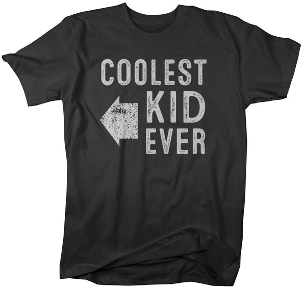 Shirts By Sarah Men's Matching Father Mother Son Daughter T-Shirt Coolest Kid Ever-Shirts By Sarah